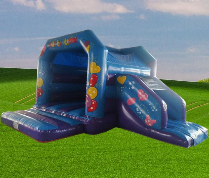 Party Side Slide Combo Castle 1480