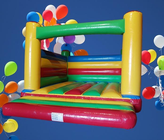 Rainbow Adult Bouncy Castle 1422