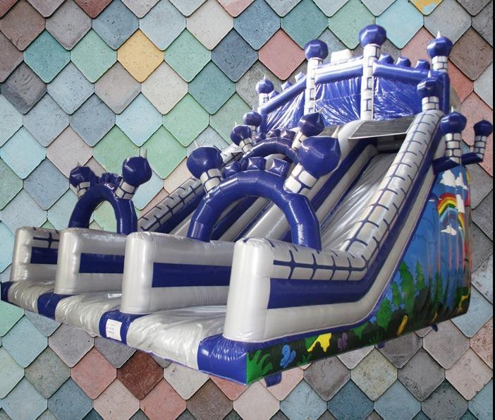 Castle Mega Slide - Twin Lane 1046