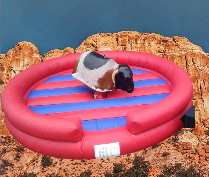 Rodeo Bull Round Bed 1012