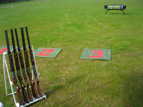 Laser Clay Pigeon Shooting 1300