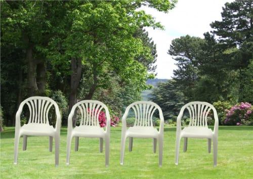 30 Plastic Garden Chairs 1342