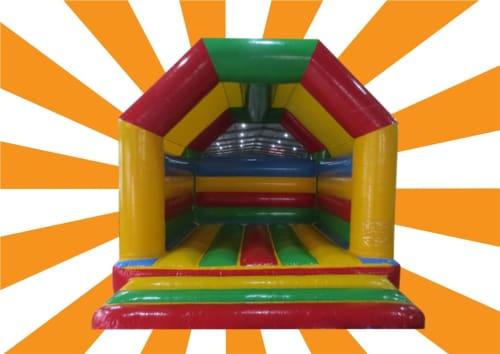 Rainbow Bouncy Castle 1090